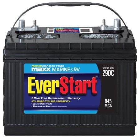 Everstart Maxx Lead Acid Marine/RV Battery, Group 29DC