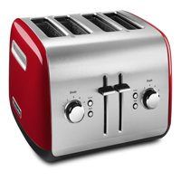 KitchenAid KMT4115ER 4-Slice Toaster with Manual High-Lift Lever, Empire Red