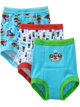Thomas Toddler Boys' Training Pants, 3 Pack