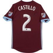 caf07d4aada Edgar Castillo Colorado Rapids Autographed Match-Used Maroon #2 Jersey from  the 2018 MLS