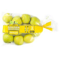 Gold Delicious Apples, 3lb Bag