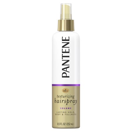 Pantene Pro-V Volume Lasting Hold, Body & Softness Texturizing Non-Aerosol Hairspray, 8.5 fl oz - Gold Hair Color Spray