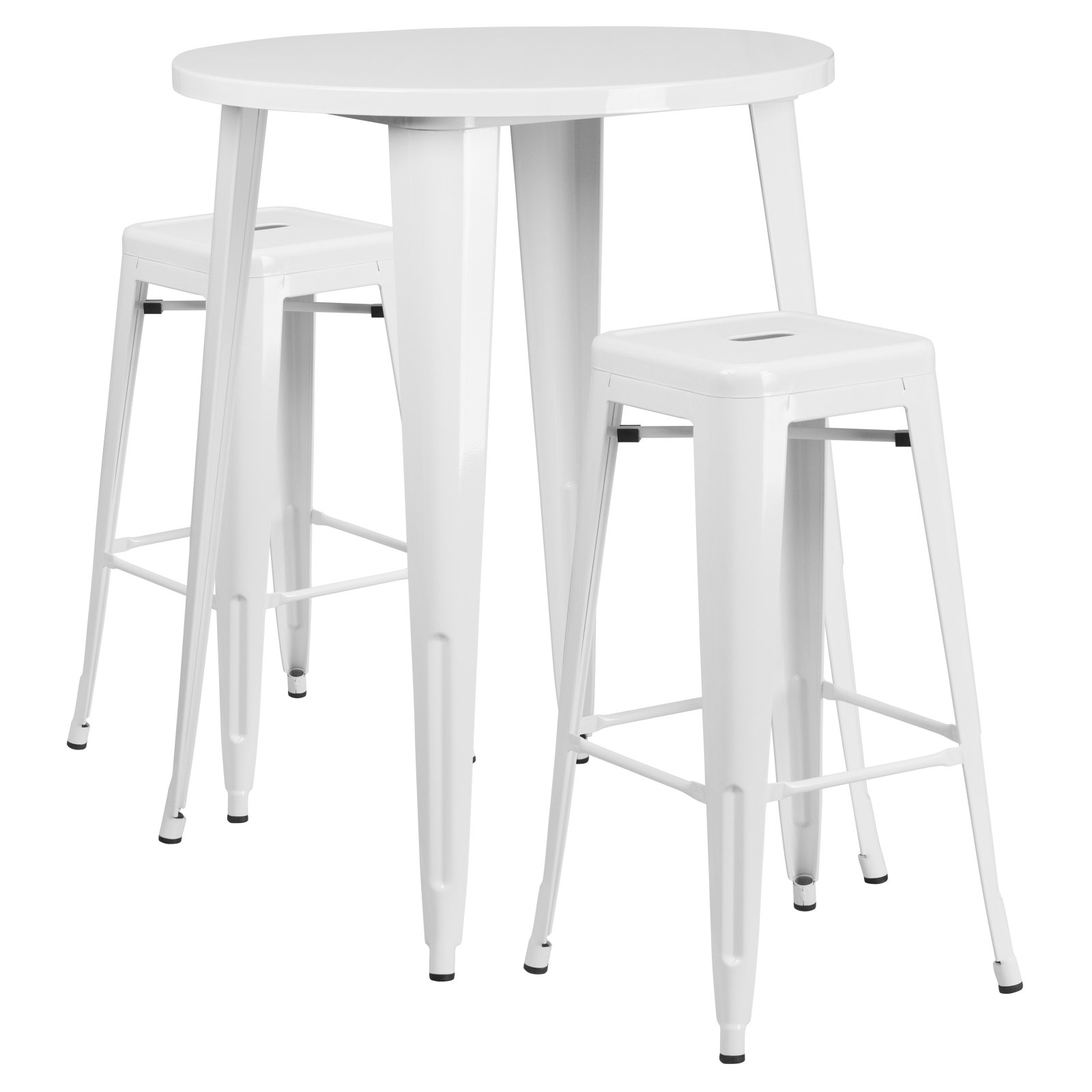 Superieur White Pub Tables