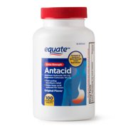 Equate Extra Strength Antacid Chewable Tablets, 160 mg, 100 Ct