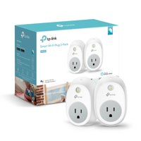 TP-Link HS100 Smart Plug, No Hub Required, 2-Pack