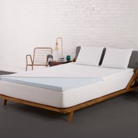 Authentic Comfort 2-Inch Fresh Gel Memory Foam Mattress Topper with Nano-Tex Coolest Comfort Cover