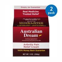 (2 Pack) Australian Dream Arthritis Pain Relief Cream 9oz