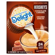 (6 Pack) International Delight Hershey's Chocolate Caramel Creamers, 24 Ct