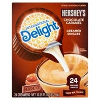 (6 Pack) International Delight Hershey's Chocolate Caramel Creamers, 24 Ct