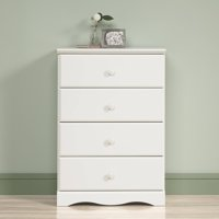 Sauder Storybook 4-Drawer Dresser, Multiple Colors