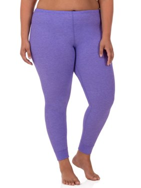 Fit for Me by Fruit of the Loom Women's and Women's Plus Size Waffle Thermal Underwear Pant