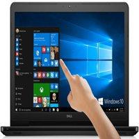 "Premium Top Performance Dell Inspiron 15.6"" Touchscreen Laptop, 7th Intel Core i3-7100U 2.4GHz, 8 GB DDR4 RAM, 1 TB HDD, HDMI, DVD-RW, Bluetooth, HDMI, Web Camera"