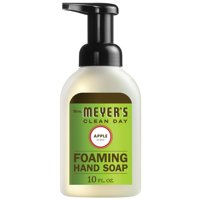 (3 Pack) Mrs. Meyer's Clean Day Foaming Hand Soap, Apple, 10 Oz