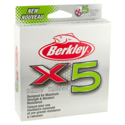- Berkley X5 Braid Fishing Line
