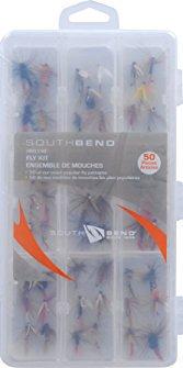 South Bend 50-Piece Fly Kit