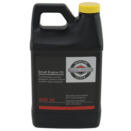 (3 Pack) Briggs and Stratton 4-Cycle Engine Oil, 48oz