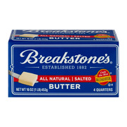 Breakstone's All Natural Salted Butter, 16 oz