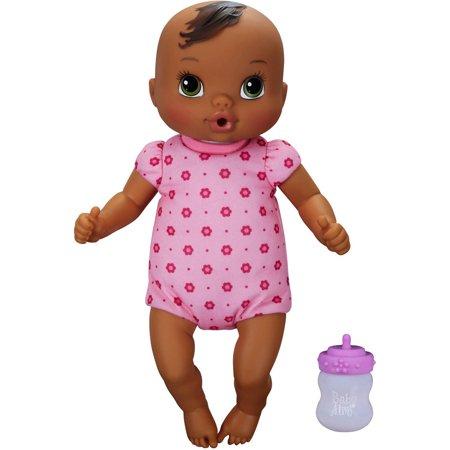 Baby Alive Luv 'n Snuggle Baby - Black Hair](Black Asian Babies)