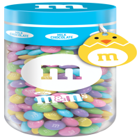 M&M'S Milk Chocolate Easter Candy Gift 13-Ounce Jar