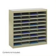 Scranton & Co Sand Mail Organizer - 36 Letter Size Compartments