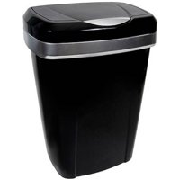 Hefty Premium Touch Lid 12.2-Gal Trash Can, Multiple Colors