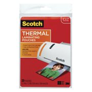 Scotch Thermal Laminating Pouch, 5 x 7 Inches, 5 mil Thickness, 20-Count