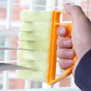 Microfibre Venetian Blind Brush Window Air Conditioner Duster Dirt Clean Cleaner Special Today
