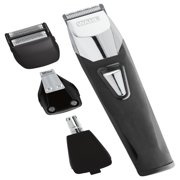 Wahl Groomsman Pro All in One Men's Grooming Kit, Rechargeable Beard Trimmers, Hair Clippers, Electric Shavers and Mustache. Ear, Nose, Body Grooming by the brand used by professionals #9860-700