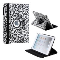 360 Degree Rotating PU Leather Case Smart Cover With Swivel Stand for Apple iPad Mini / Mini Retina / Mini 3 Case (Released 2014)