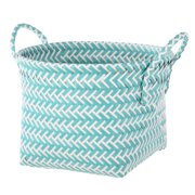Mainstays Woven RES Teal Basket