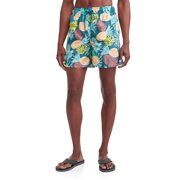 0fb29febd9 George Men's Novelty 6-Inch Swim Short, up to Size 5XL