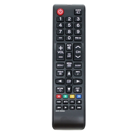 Replacement PN51E535A3FXZA HDTV Remote Control for Samsung TV - Compatible with AA59-00666A Samsung TV Remote Control