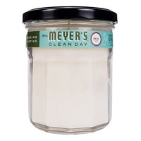 Mrs. Meyer's Clean Day Scented Soy Candle, Large Glass, Basil, 7.2 Ounces
