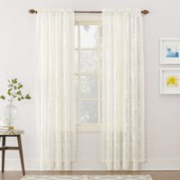 No. 918 Alison Sheer Lace Rod Pocket Curtain Valance