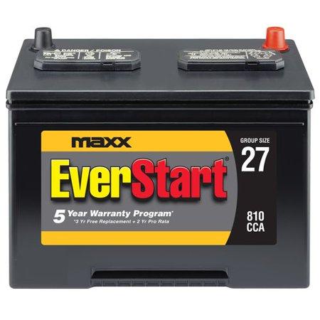 Everstart Maxx Lead Acid Automotive Battery Group 27 Walmart Com