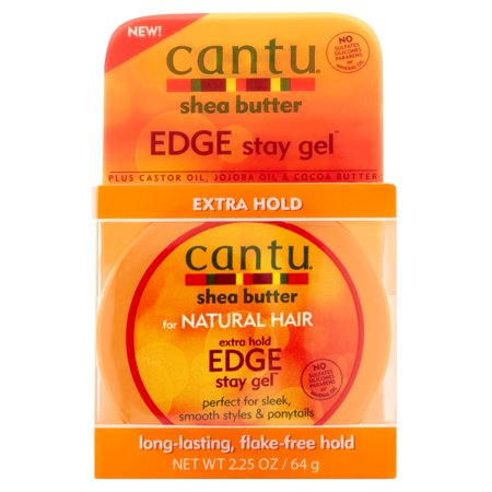 - Cantu Shea Butter for Natural Hair Extra Hold Edge Stay Gel, 2.25 oz