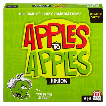 Apples to Apples Junior, Fun Family Game for 9 Year-Olds and Up - Halloween Games For 2-4 Year Olds