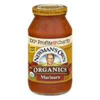 (6 Pack) Newman's Own Organics Pasta Sauce Marinara, 23.5 OZ