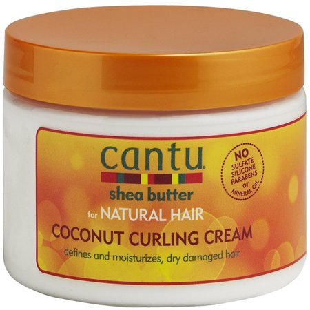 Cantu Shea Butter for Natural Hair Coconut Curling Cream 12