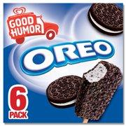 Good Humor Ice Cream & Frozen Desserts Bar Oreo 6 ct