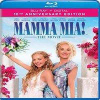 Mamma Mia! The Movie (10th Anniversary Edition) (Blu-ray + Digital)