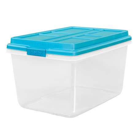 72-qt Hefty® HI-RISE™ Storage Bin](Large Plastic Storage Bins)