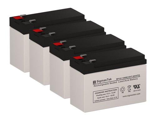 Merich 850C Replacement Batteries (12V 7.5AH ) (Set of 4)