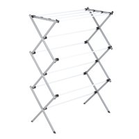 Honey Can Do Heavy-Duty Rustproof Metal Drying Rack, Silver