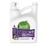 Seventh Generation Liquid Laundry Detergent, Fresh Lavender, 99 Loads, 150 oz