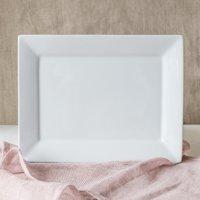 Better Homes & Gardens 10x14 Porcelain Serve Platter, White