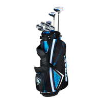 Callaway Men's Strata '19 Complete 12-Piece Steel Golf Club Set with Bag, Right Handed