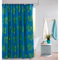 Mainstays Shower Curtain Kit with Hooks and Waterproof Liner