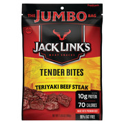 Jack Link's Tender Bites Teriyaki Beef Steak Jumbo Bag, 5.85 Oz.