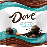Dove Silky Smooth Promises Dark Chocolate & Sea Salt Caramel Candy, 7.61 Oz.